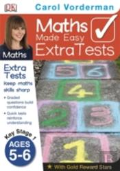 Maths Made Easy Extra Tests Age 5