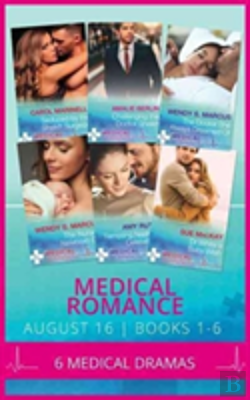 Bertrand.pt - Medical Romance August 2016 Books 1-6: Seduced By The Sheikh Surgeon / Challenging The Doctor Sheikh / The Doctor She Always Dreamed Of / The Nurse'S Newborn Gift / Tempting Nashville'S Celebrity Doc