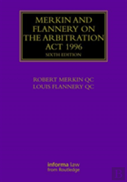 Bertrand.pt - Merkin And Flannery On The Arbitration Act 1996