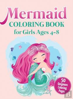 Bertrand.pt - Mermaid Coloring Book For Girls Ages 4-8