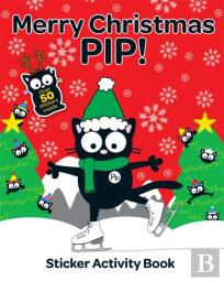 Merry Christmas Pip Sticker Activity Book