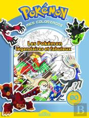 Mes Coloriages Pokemon - Les Pokemons Legendaires De Kalos