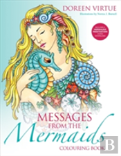 Messages From The Mermaids Colouring Book
