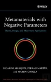 Metamaterials With Negative Parameters