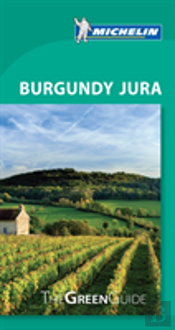 Michelin Green Guide Burgundy Jura