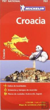 Michelin Mapa Croacia