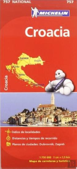 Bertrand.pt - Michelin Mapa Croacia