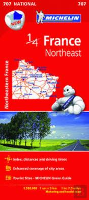 Michelin Mapa France Northeast
