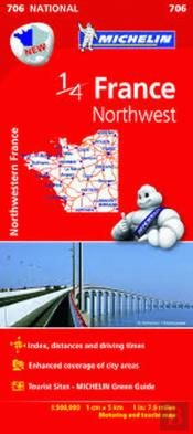 Michelin Mapa France Northwest