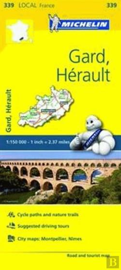Bertrand.pt - Michelin Mapa Local França: Gard, Hérault