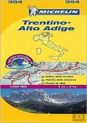 Michelin Mapa Local Itália: Trentino/Alto Adige