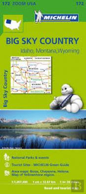 Michelin Mapa Zoom U.S.A.: Big Sky Country