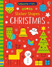 Mini Books Sticker Shapes Christmas