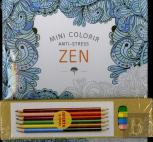 Mini Colorir Anti-Stress Zen pack