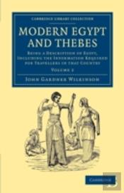 Modern Egypt And Thebes