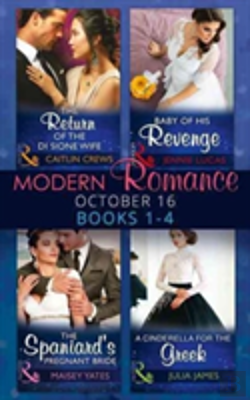 Bertrand.pt - Modern Romance October 2016 Books 1-4