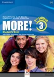 More! Level 3 - 2 ED - Inglês - 7º ano - nível 3 - Student'S Book With Cyber Homework And Online Resources