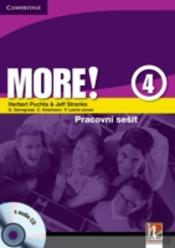 More! Level 4 Workbook With Audio Cd Czech Edition