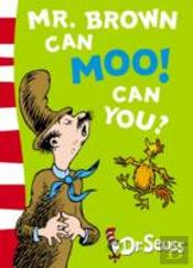 Mr.Brown Can Moo! Can You?Blue Back Book