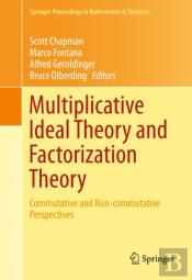 Multiplicative Ideal Theory And Factorization Theory