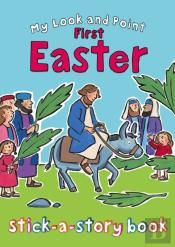 My Look And Point First Easter Stick-A-Story