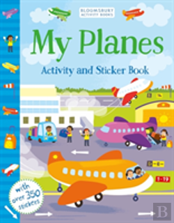 Bertrand.pt - My Planes Activity And Sticker Book