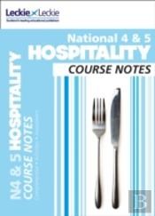 National 4/5 Hospitality Student Book