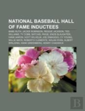 National Baseball Hall Of Fame Inductees: Babe Ruth, Jackie Robinson, Reggie Jackson, Ted Williams, Ty Cobb, Satchel Paige, Enos Slaughter