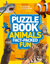 National Geographic Kids Puzzle Book - Animals