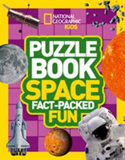 Bertrand.pt - National Geographic Kids Puzzle Book - Space