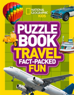 Bertrand.pt - National Geographic Kids Puzzle Books - Travel