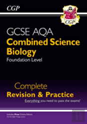 New 9-1 Gcse Combined Science: Biology Aqa Foundation Complete Revision & Practice With Online Edn