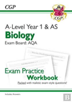 Bertrand.pt - New A-Level Biology For 2018: Aqa Year 1 & As Exam Practice Workbook - Includes Answers