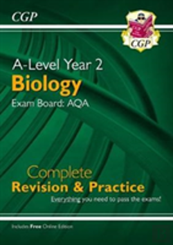 Bertrand.pt - New A-Level Biology For 2018: Aqa Year 2 Complete Revision & Practice With Online Edition