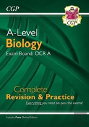 New A-Level Biology For 2018: Ocr A Year 1 & 2 Complete Revision & Practice With Online Edition