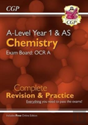New A-Level Chemistry For 2018: Ocr A Year 1 & As Complete Revision & Practice With Online Edition