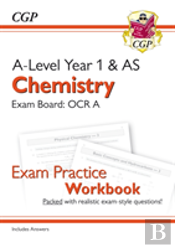 New A-Level Chemistry For 2018: Ocr A Year 1 & As Exam Practice Workbook - Includes Answers