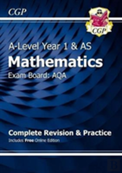 Bertrand.pt - New A-Level Maths For Aqa: Year 1 & As Complete Revision & Practice With Online Edition
