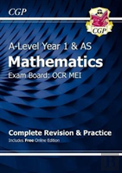 New A-Level Maths For Ocr Mei: Year 1 & As Complete Revision & Practice With Online Edition