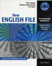 New English Filemultipack A (Student'S Book And Workbook In One)