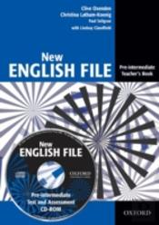 New English Fileteacher'S Book With Test And Assessment