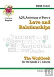 New Gcse English Literature Aqa Poetry Workbook: Love & Relationships Anthology (Includes Answers)