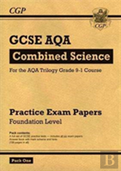 New Grade 9-1 Gcse Combined Science Aqa Practice Papers: Foundation Pack 1