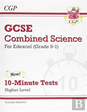 New Grade 9-1 Gcse Combined Science: Edexcel 10-Minute Tests (With Answers) - Higher