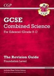 New Grade 9-1 Gcse Combined Science: Edexcel Revision Guide With Online Edition - Foundation