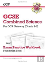 New Grade 9-1 Gcse Combined Science: Ocr Gateway Exam Practice Workbook - Foundation