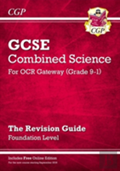 New Grade 9-1 Gcse Combined Science: Ocr Gateway Revision Guide With Online Edition - Foundation