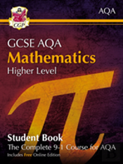 New Grade 9-1 Gcse Maths Aqa Student Book - Higher (With Online Edition)