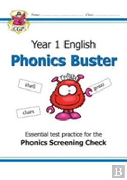 Bertrand.pt - New Ks1 English Phonics Check Buster Workbook - For The Phonics Screening Check In Year 1