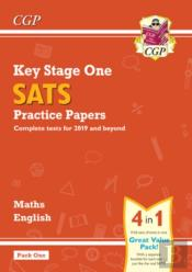 New Ks1 Maths And English Sats Practice Papers Pack (For The Tests In 2019) - Pack 1